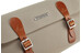 Brooks Glenbrook Cykeltaske beige/orange